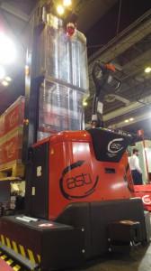 AGV de Asti en la feria robótica de Madrid 2016