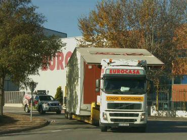 Montaje y Transporte de las casas prefabricadas