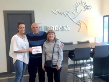 """Ganadores del crucero """"Brisas del Mediterráneo"""" - Eurocasa"""