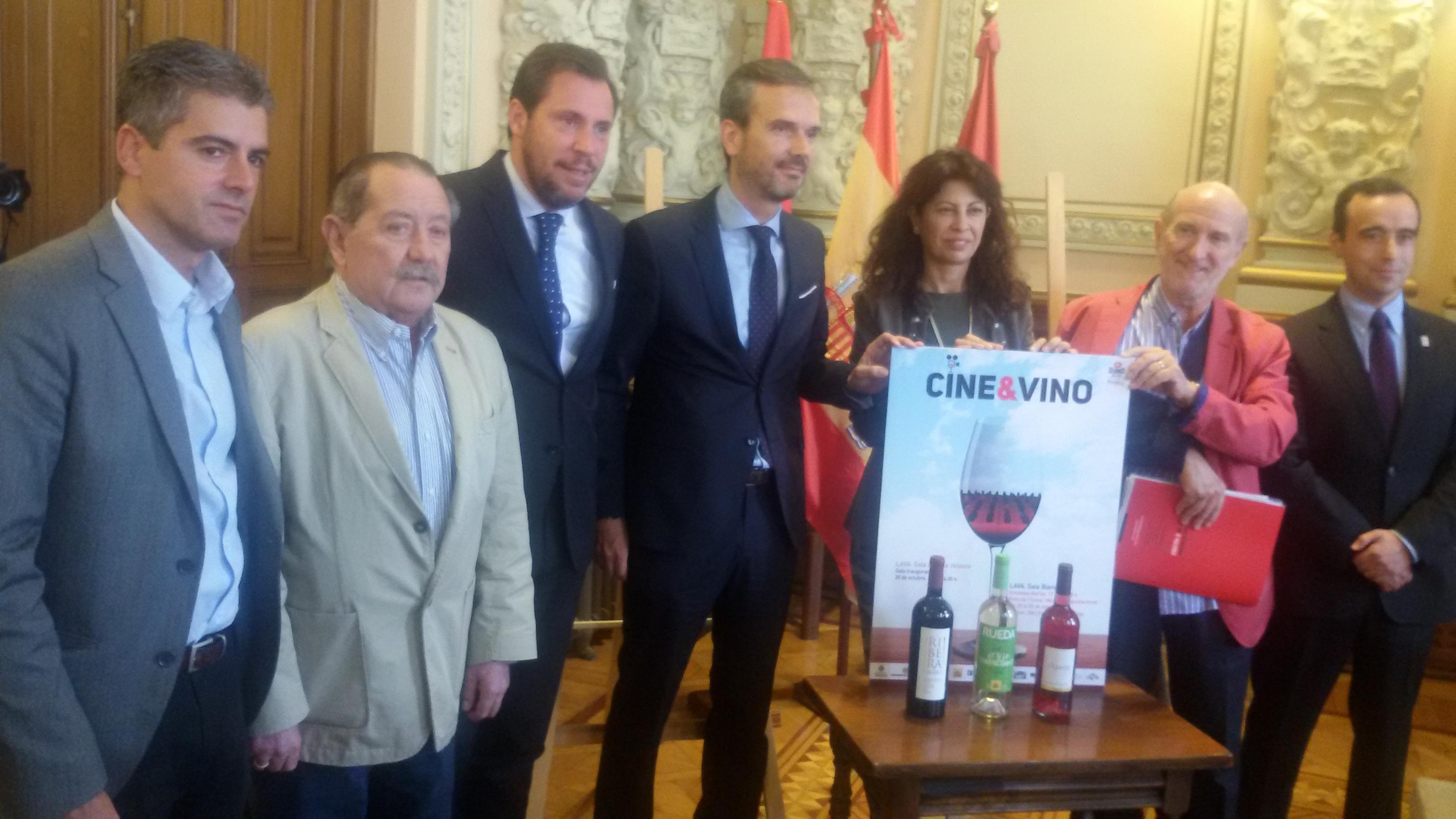 LOS VINOS DE RUEDA, CIGALES Y RIBERA DEL DUERO MANTIENEN SU APOYO A CINE&VINO