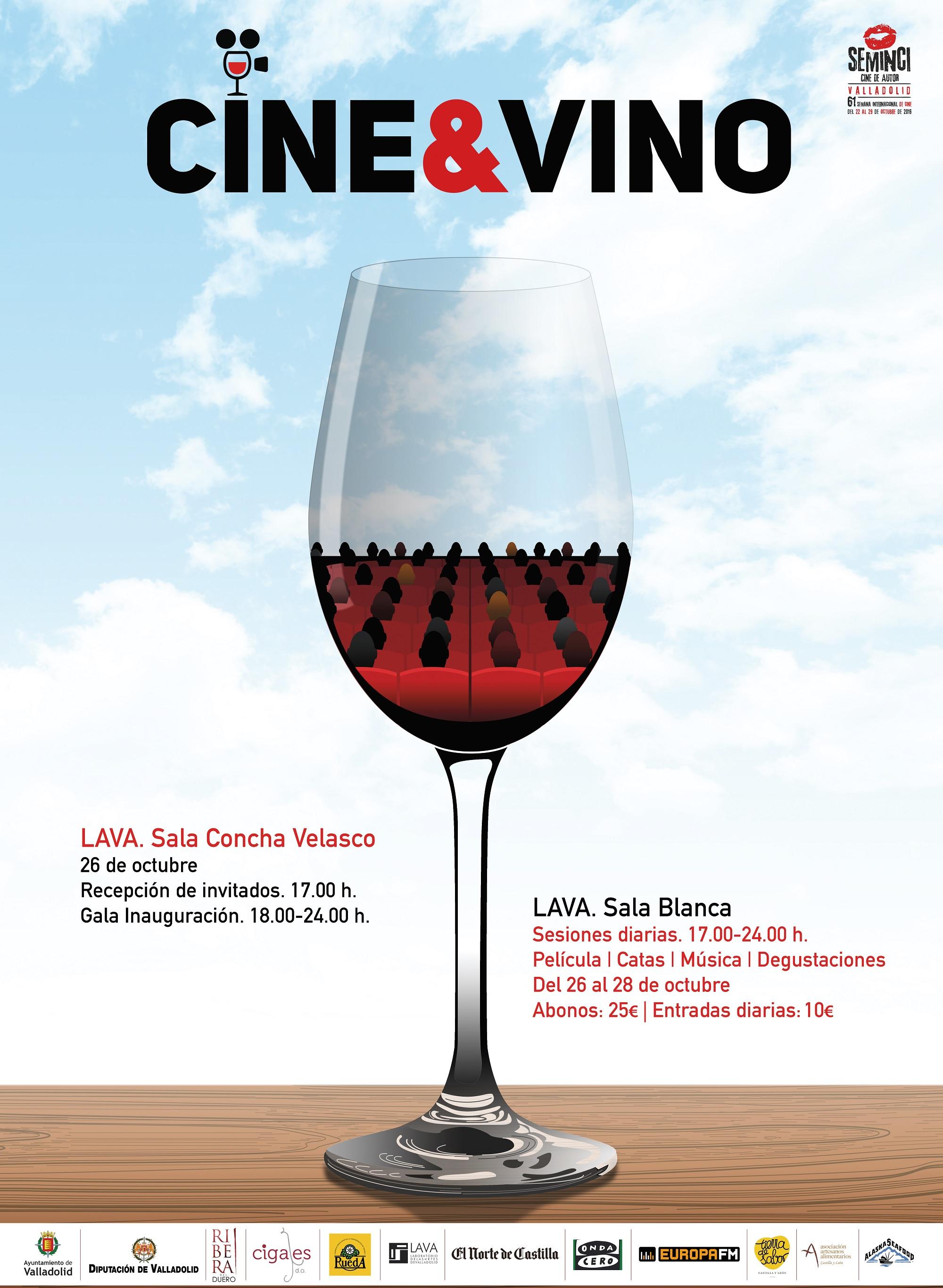 La DO Cigales se viste de gala para el Ciclo Cine&Vino de Seminci