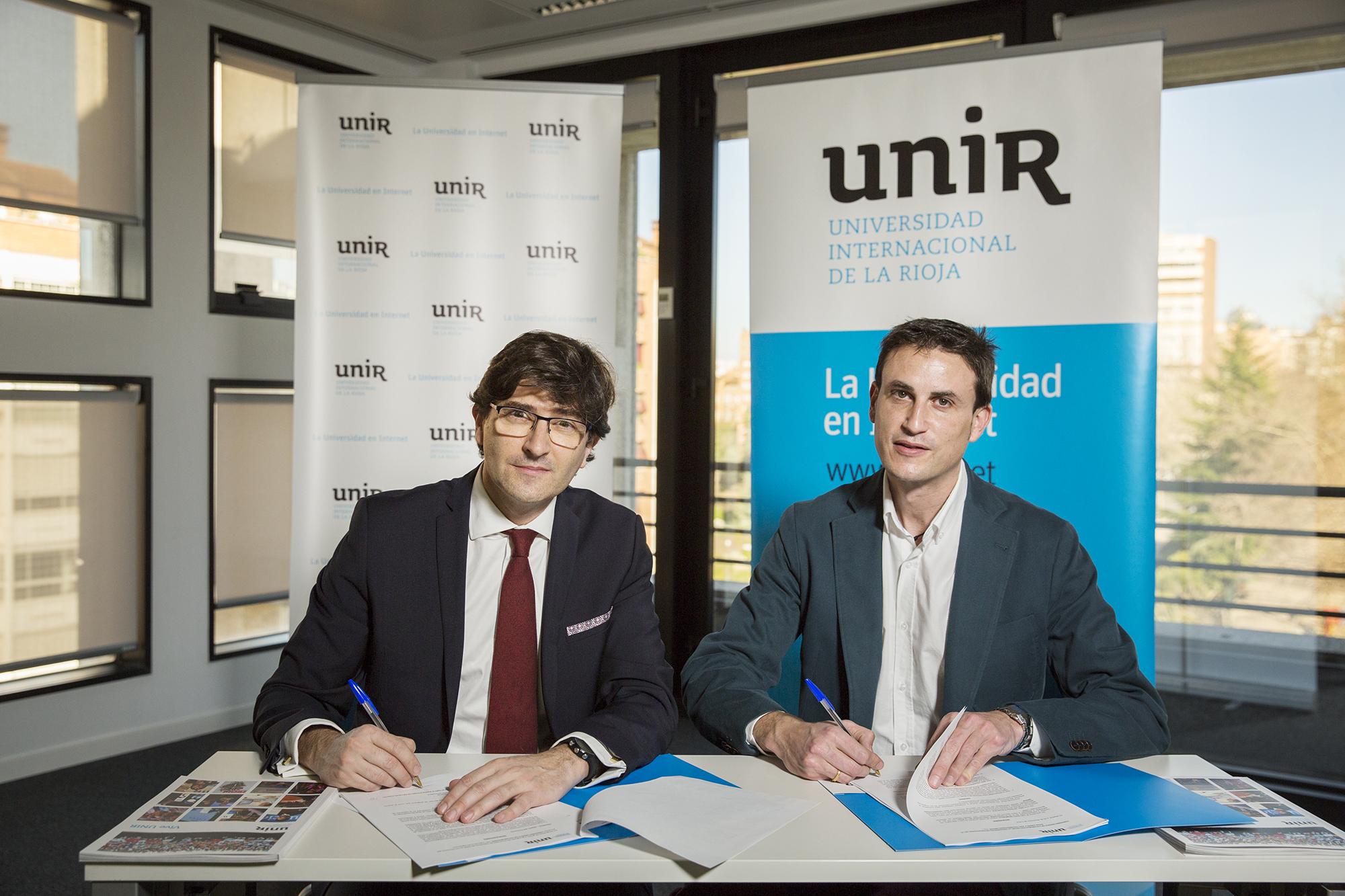 UNIR Y ASTI Technologies Group firman un convenio para promover la investigación y el desarrollo del talento