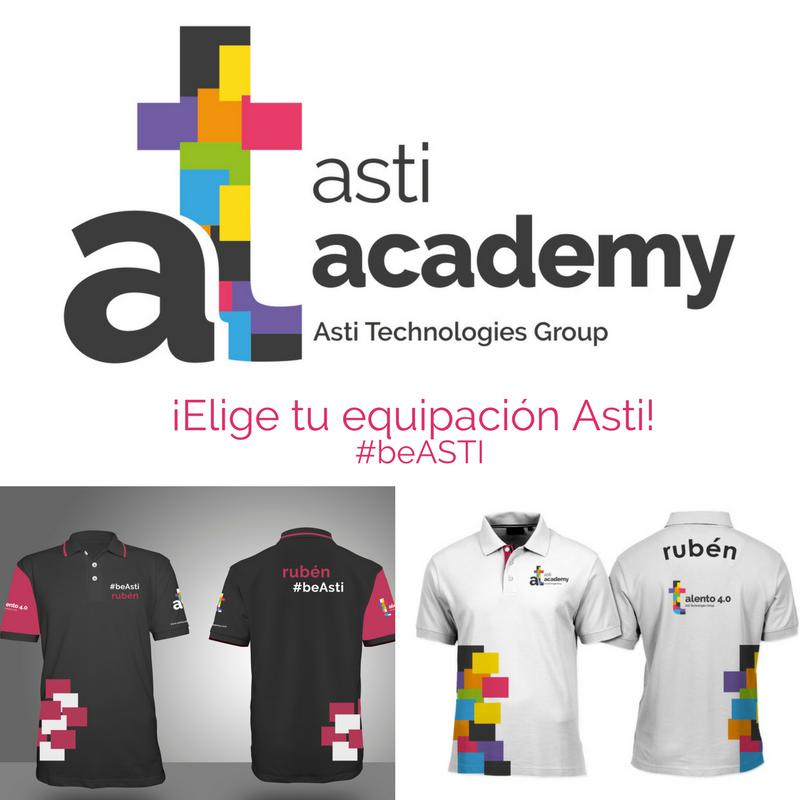 ¿Qué equipación os gusta más para los alumnos de ASTI Academy?