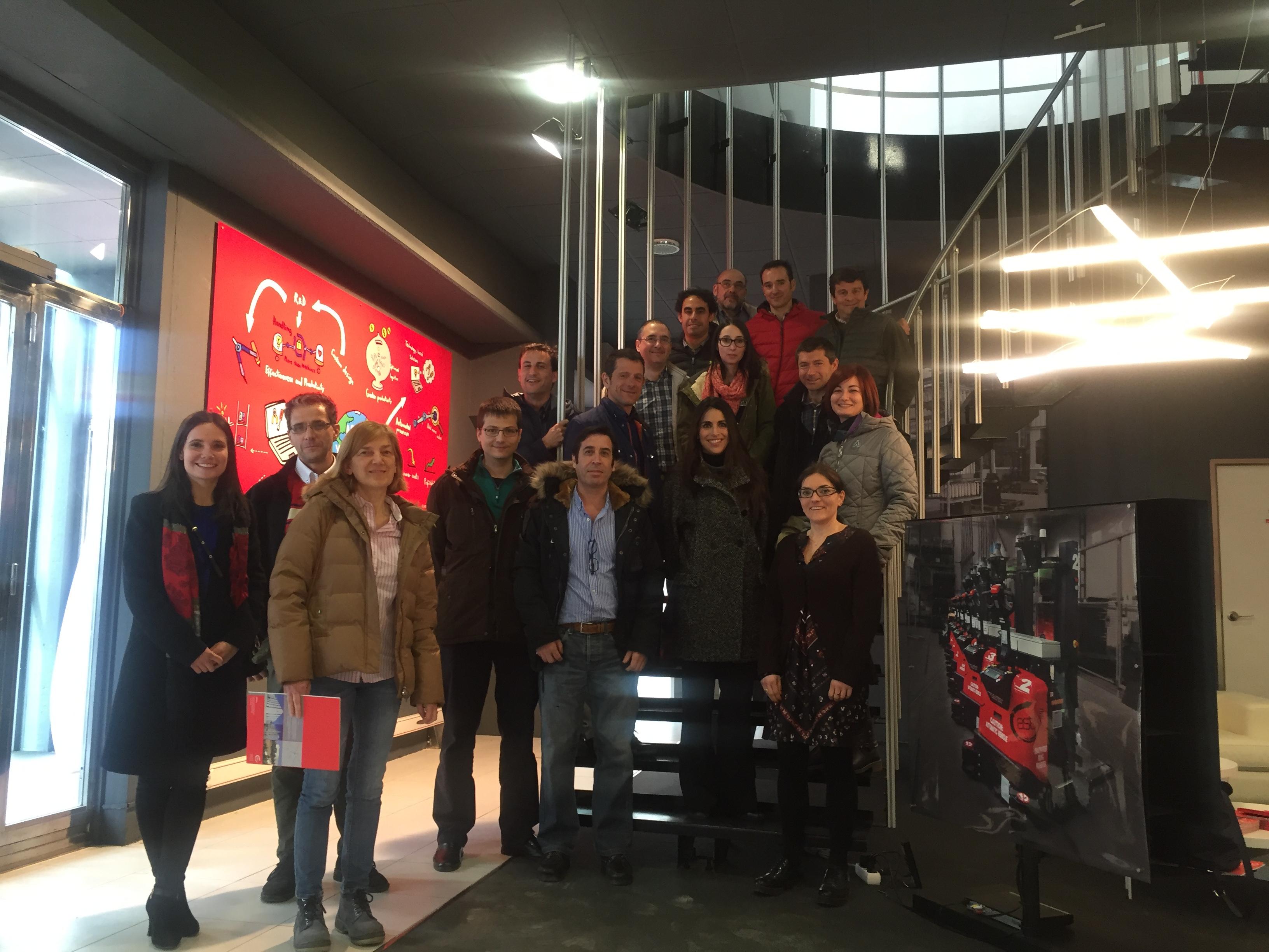 Sonae Arauco visita las instalaciones de ASTI
