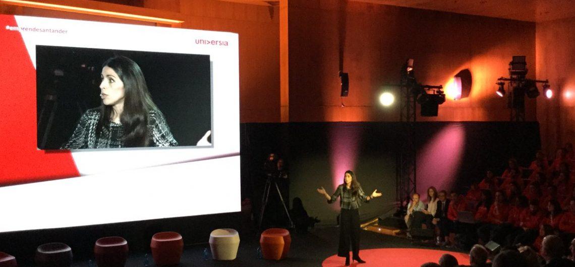 Verónica Pascual interviene en 'Universidad y emprendimiento', organizado por Banco Santander