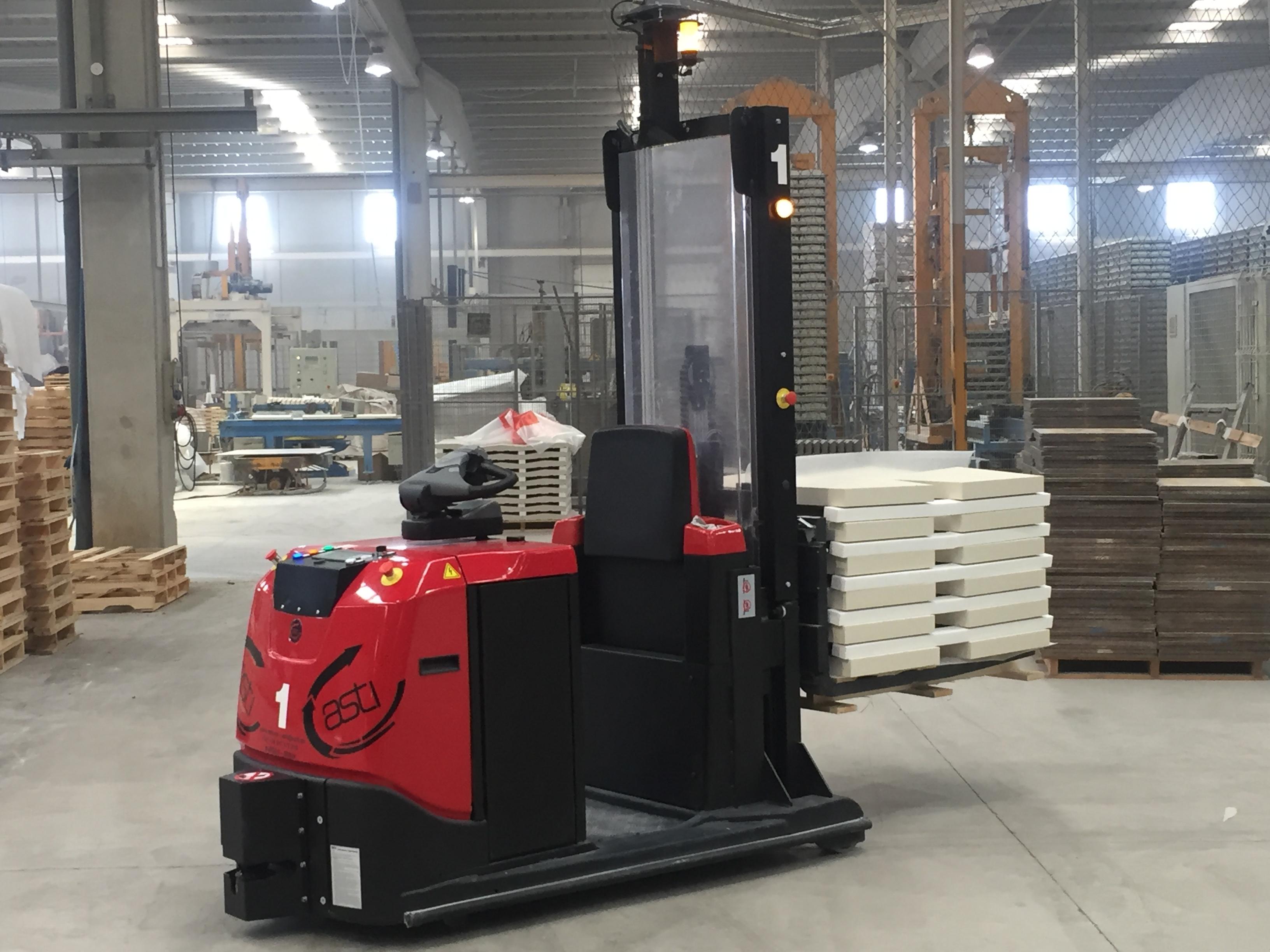 ASTI implanta una solución de transporte interno en SAS Prefabricados de Hormigón para la mejora de sus flujos productivos