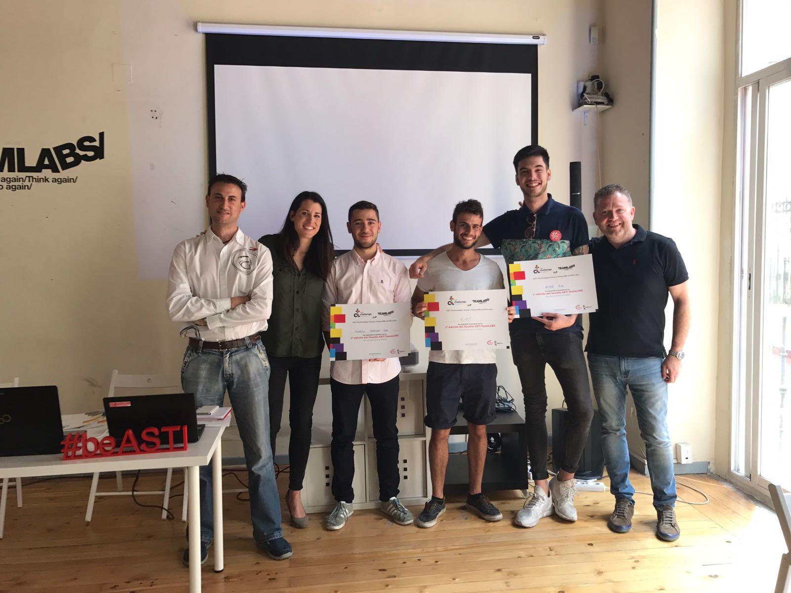 Un proyecto de Kippit de Madrid gana el I Desafío ASTI Teamlabs